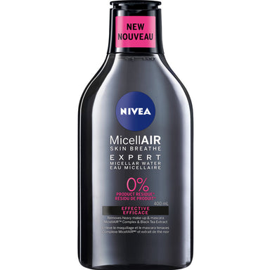 Nivea MicellAIR Expert Micellar Water, Effective, 400 ml