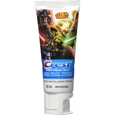 Crest Pro-Health Kid's Flouride Anticavity Star Wars Toothpaste, Rockin Mint, 85 ml