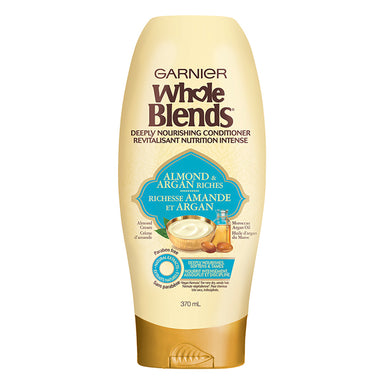Garnier Whole Blends Conditioner, Almond & Argan Riches, 370 ml
