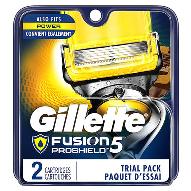 Gillette Fusion 5 ProShield Men's Blade Refills, 2 Count