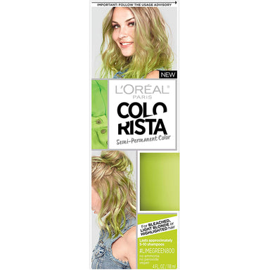 L'Oreal Paris Colorista Semi-Permanent Colour, Lime Green