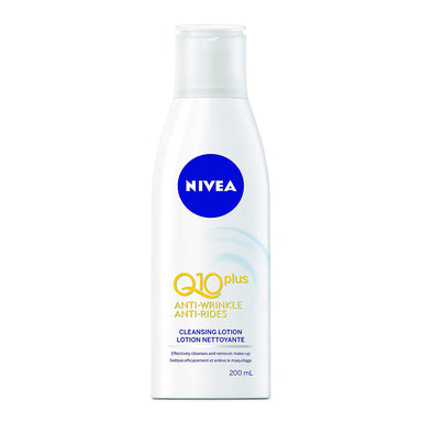 Nivea Q10plus Anti-Wrinkle Cleansing Lotion, 200 ml