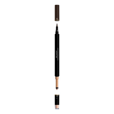 Revlon Colorstay Shape & Glow Eye Brow Marker and Highlighter, Soft Black, 0.02 Oz (Marker), 0.008 Oz (Highlighter)
