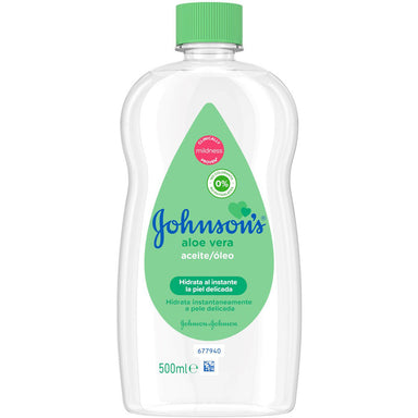 Johnson'S Baby 500Ml Oil Aloe Vera