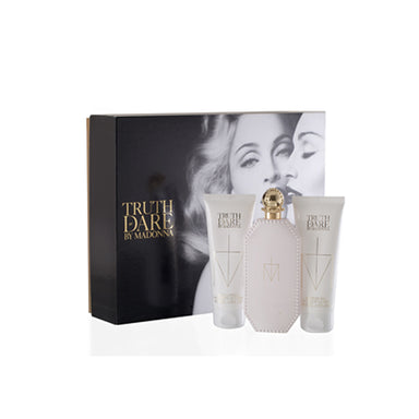 Madonna Truth Or Dare Coffret: Eau De Parfum Spray 75Ml/2.5Oz + Body Lotion 75Ml/2.5Oz + Shower Gel 75Ml/2.5Oz For Women 3Pcs