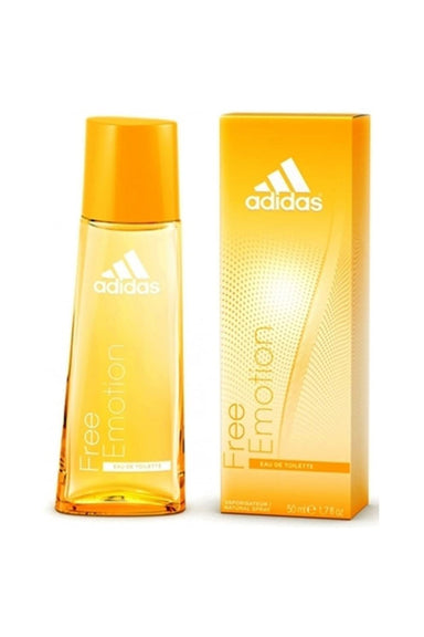 Adidas Free Emotion for Women Eau-de-toilette Spray, 1.7-Ounce