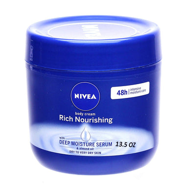 Nivea Rich Nourishing Body Cream Dry Skin Almond Oil 400 ml