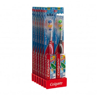 Colgate Toothbrush 12Pk Max Fresh Medium