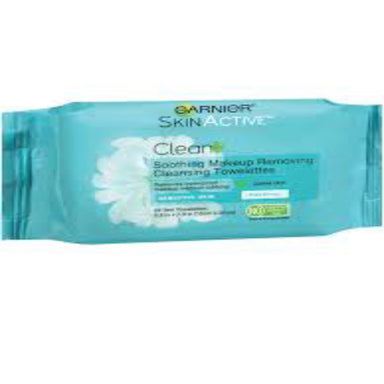 Garnier SkinActive Makeup Removing Cleansing Towelettes, Clean Plus, 35 Towelettes