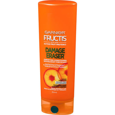 Garnier Fructis Damage Eraser Fortifying Conditioner with Amla Extract, Vegan, 354 mL