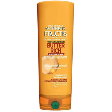 Garnier Fructis Triple Nutrition Butter Rich Sulfate-Free Fortifying Conditioner