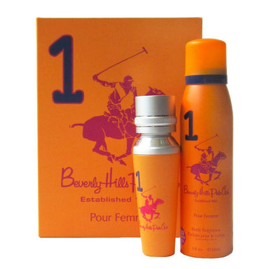 Set - Beverly Hills Polo Club #1 Womens Gift Set - EDP 50ML + Deodorant
