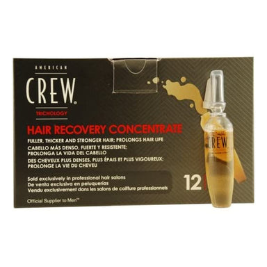 American Crew: TRICHOLOGY HAIR RECOVERY CONCENTRATE FOR FULLER, THICKER HAIR 12 DOSES