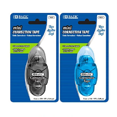 Bazic #1604 Min-Correction Tape, 2Pk