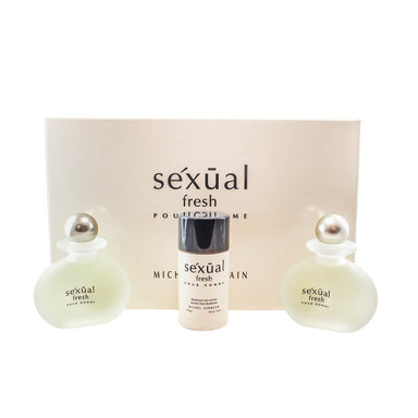 Michel Germain Sexual Fresh Pour Homme Men's 3-piece Gift Set