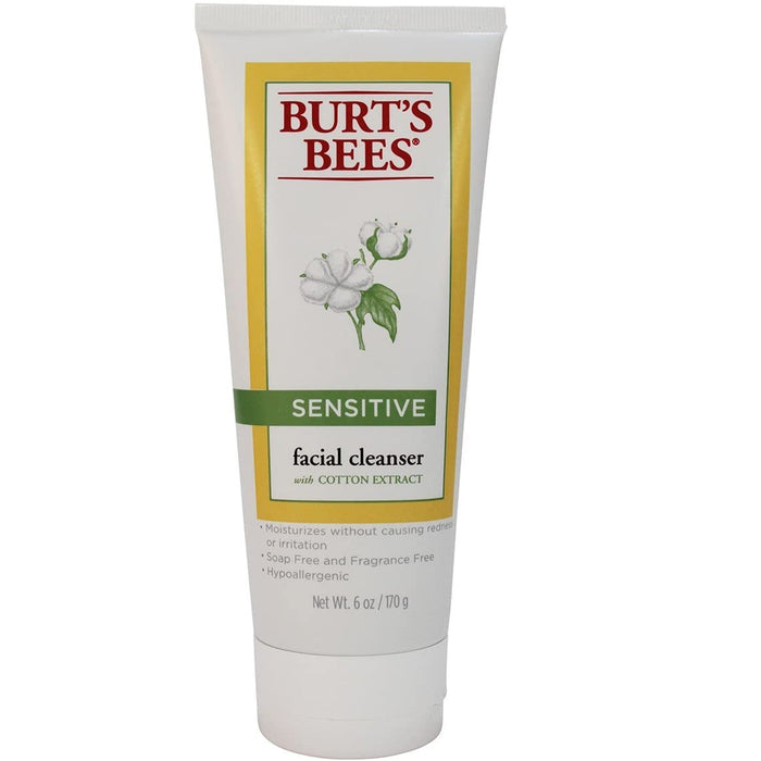 Burt's Bees Sensitive Facial Cleanser, 170g
