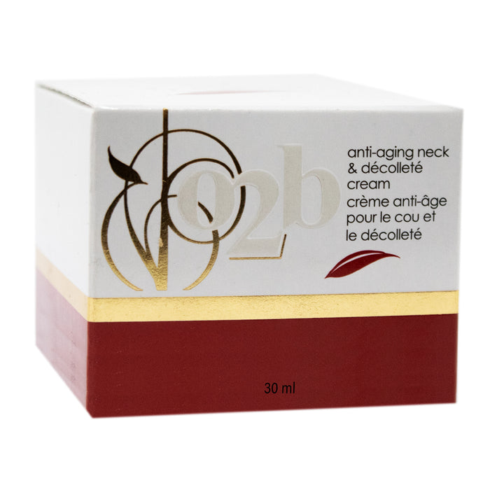O2B Anti-Aging Neck and Decollete Cream 30 mL