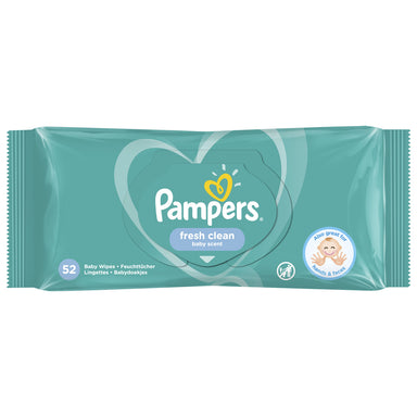 Pampers Wipes, Fresh Clean 52 Count