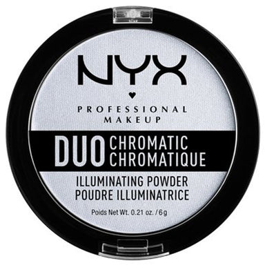 NYX Professional Makeup Duo Chromatic Illuminating Powder, Twilight Tint 0.21oz