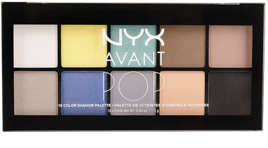NYX Professional Makeup Avant Pop! Shadow Palette, Surreal My Heart, 0.5 Ounce