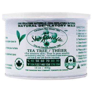 Spa Ronelle Natural Depilatory Wax, Tea Tree, 14oz