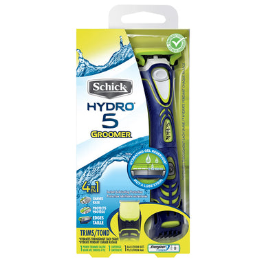 Schick Hydro 5 Electric Shaver and 5 Blade Razor for Men with Adjustable Comb for Beard Trimming