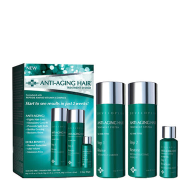 Developlus Anti Aging Hair Treatment System