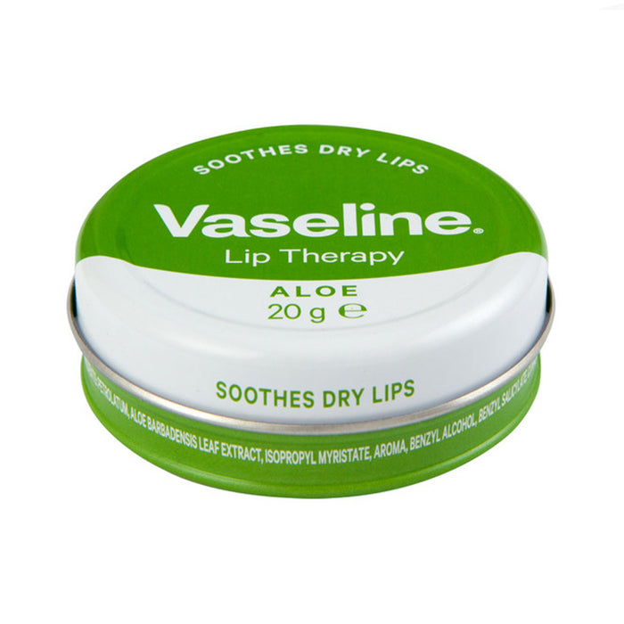 Vaseline Lip Therapy Aloe Vera, 20g 24hr
