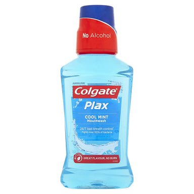 Colgate Mouthwash Plax Cool Mint, Alcohol Free, 250Ml
