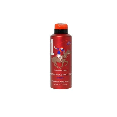 Open Stock - BEVERLY HILLS POLO CLUB SPORTS MEN #1 DEODORANT 175ML