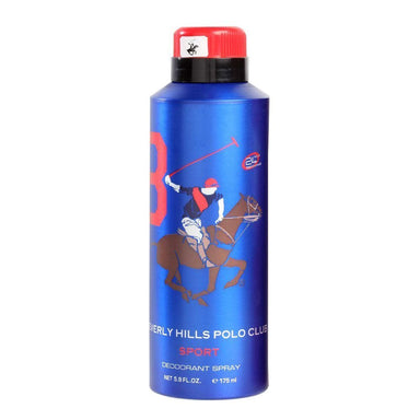 Open Stock - BEVERLY HILLS POLO CLUB SPORTS MEN #8 DEODORANT 175ML
