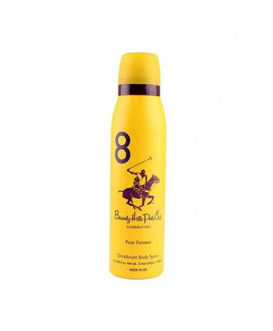 BEVERLY HILLS POLO CLUB WOMEN  #8 DEODORANT 150ML