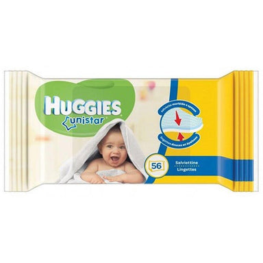 Baby Wipes - Huggies Unistar Wipes, 56-Count