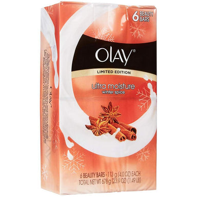 Bar Soap - Olay Ultra Moisture Beauty Bars, Winter Spice, 6 Bars
