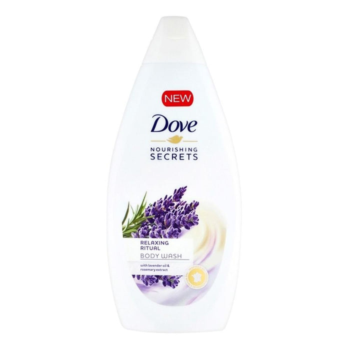 Body Wash - Dove Nourishing Secrets Body Wash, Lavender Oil, 500 Ml