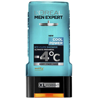 Body Wash - Men Expert Shower Gel, Cool Power, 300ml