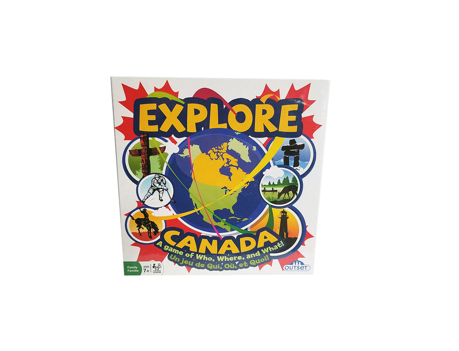 EXPLORE CANADA - A GAME OF WHO, WHERE AND WHAT!