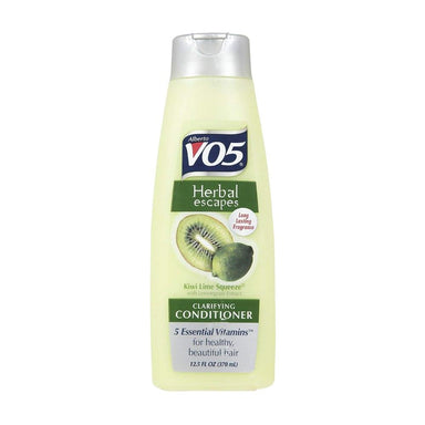 Conditioner - Alberto Vo5 Herbal Escapes Kiwi Lime Squeeze Clarifying Conditioner, 12.5 Oz