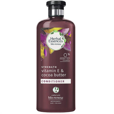 Conditioner - Herbal Essences Biorenew Vitamin E & Cocoa Butter Strength Conditioner, 13.5 FL OZ