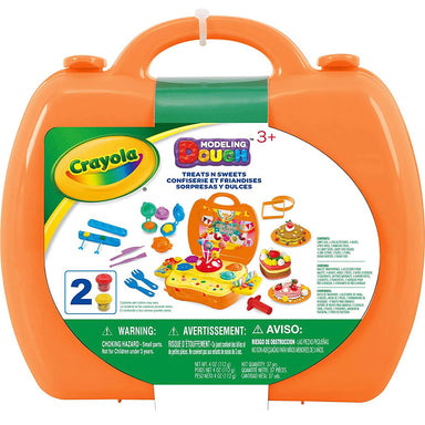 Crayola - Carry Case Treats N Sweets Modelling Dough