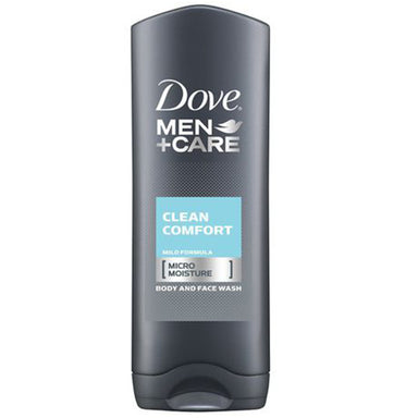 Dove Men+Care Body Wash & Face Wash Clean Comfort Moisturizing, 400ml