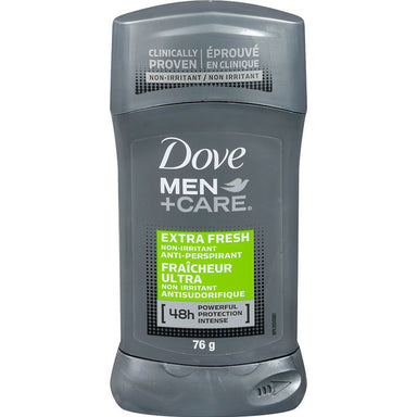Dove Men+Care Extra Fresh Non Irritant Anti-Perspirant Stick 76g