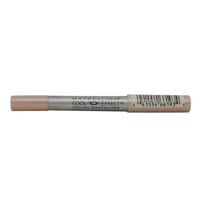 Eyeliner - Maybelline Cool Effect Cooling Shadow/Liner, Blizzard Brown 28