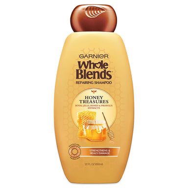 Garnier Whole Blends Repairing Shampoo, Honey Treasures, 650ml