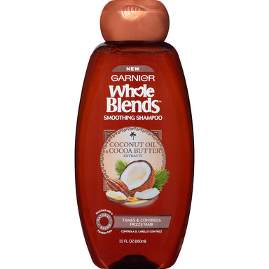 Garnier Whole Blends Smoothing Shampoo, Coconut Oil & Shea Butter, 650ml