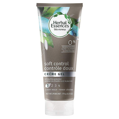 Hair Gel - Herbal Essences Bio-Renew Soft Control Creme Hair Gel, 6.0 Fl Oz
