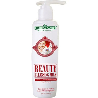 Herbal Care Hollywood Style Beauty Cleansing Milk, 6.8oz