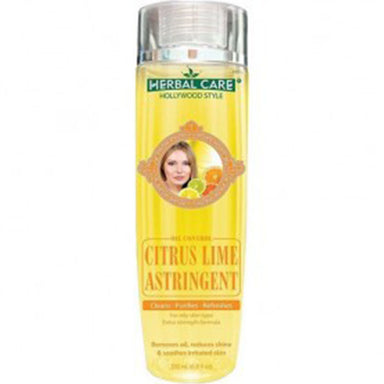 Herbal Care Hollywood Style Citrus Lime Astringent, Oil Control, 6.8oz