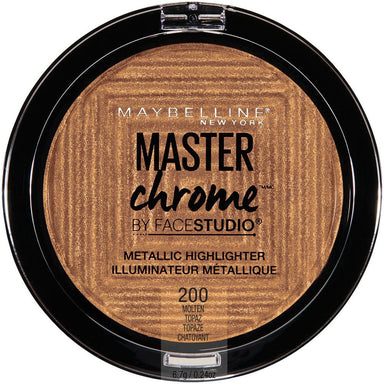 Highlighter Pressed Powder - Maybelline New York FaceStudio Master Chrome Metallic Highlighter