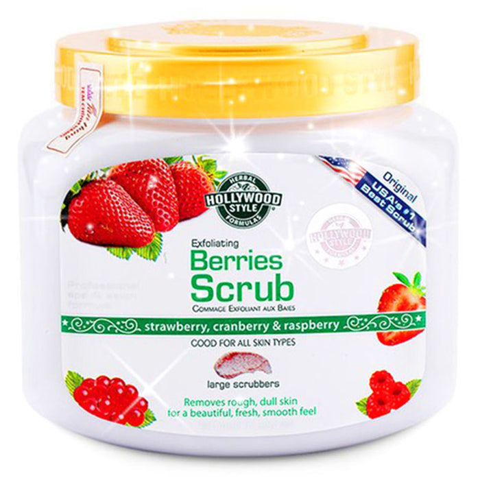 Hollywood Style Exfoliating Berries Scrub 560g